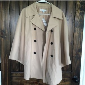 NWT New York & Co. Trench Cape